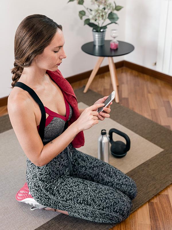 Allenamento da casa con personal trainer - Come funziona