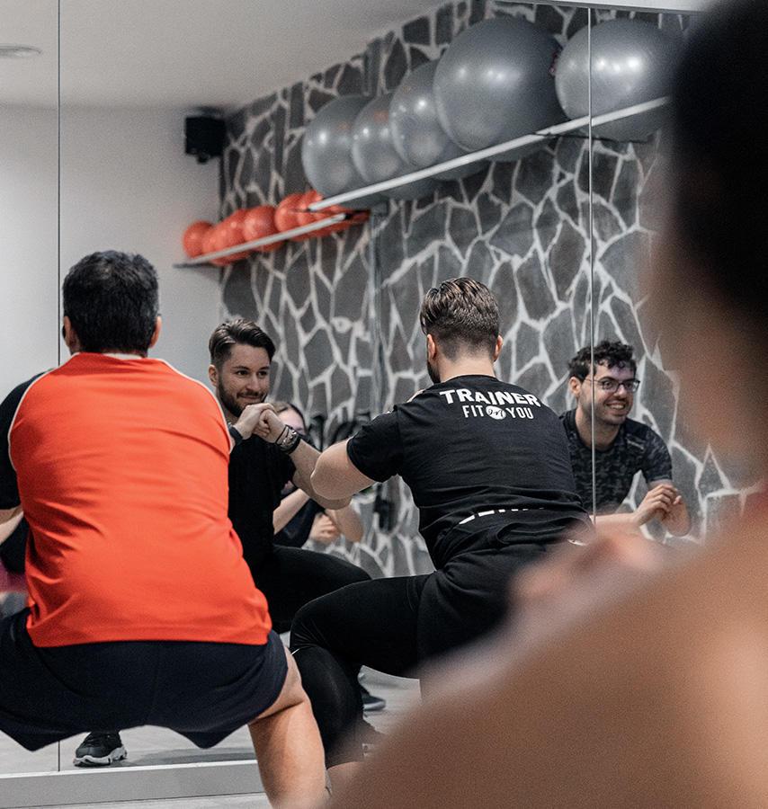 Immagini del Corso Functional Training presso la palestra Fit on You di Roma